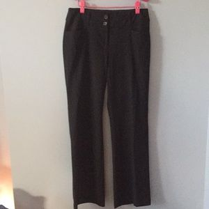 Alfani black dress pants size 6